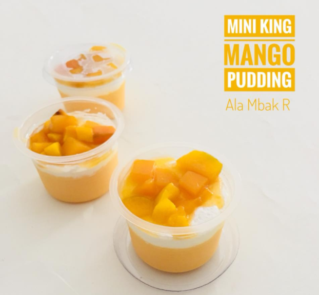 3 f Mini King Mango Pudding Lagi Hits